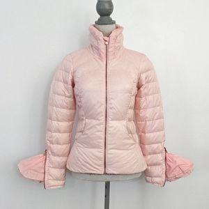 RARE Lululemon Down Town Puffy Jacket Pretty Pink